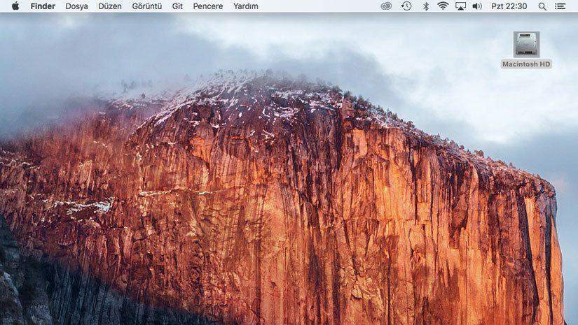 Macintosh Diskler Gözükmüyor ?